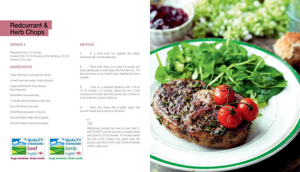 Magazines - Food / Recipe Layout